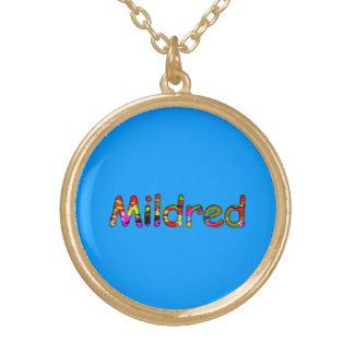 Mildredの付属品 ゴールドプレートネックレス