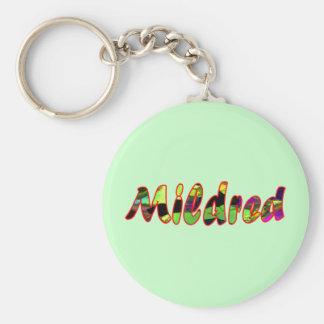 Mildredの緑のキーホルダー キーホルダー