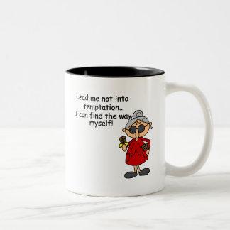 Mildredの誘惑のTシャツおよびギフト ツートーンマグカップ