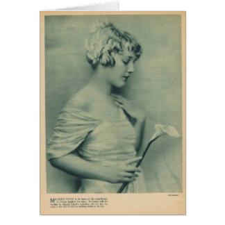 Mildredデービス1921年 カード