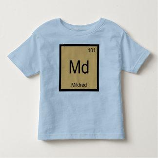 Mildred一流化学要素の周期表 トドラーTシャツ