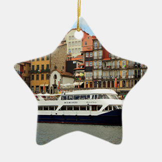 Milenioはドウロ川のボート、ポルト、ポルトガルをします セラミックオーナメント