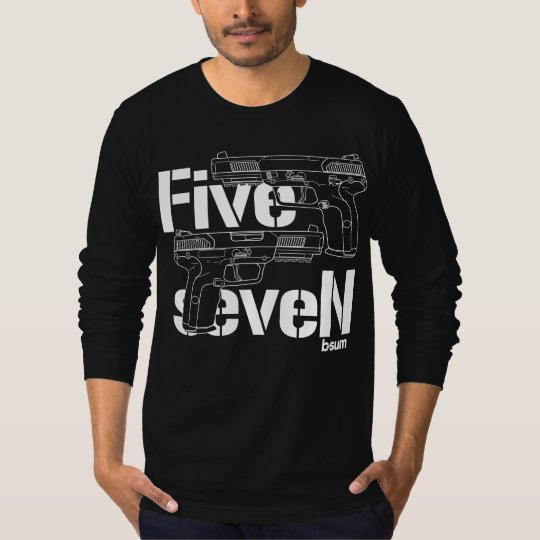 military t-shirts FN Five seveN Tシャツ