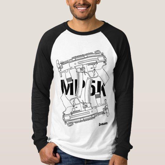 military t-shirts HK MP5k SMG Tシャツ