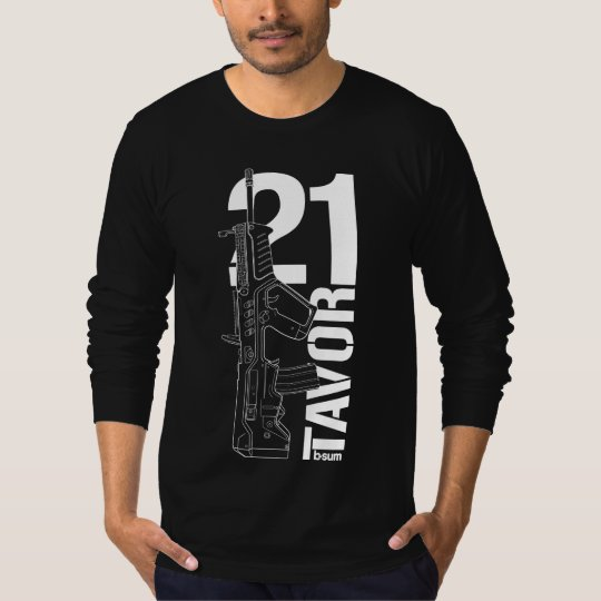 military t-shirts IWI Tavor21 Assault rifle Tシャツ