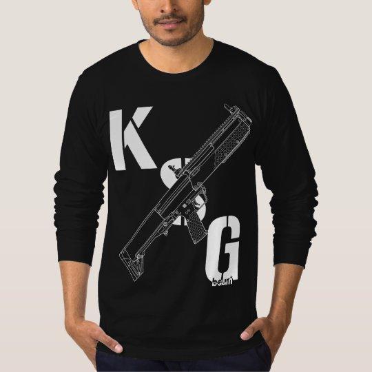 military t-shirts KSG Shotgun Tシャツ