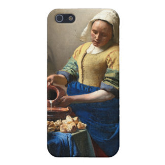 Milkmaid、1月Vermeer iPhone 5 カバー