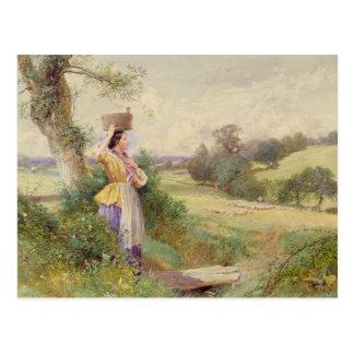 Milkmaid 1860年 ポストカード