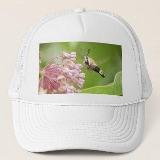 Milkweedの花のハチドリガ キャップ