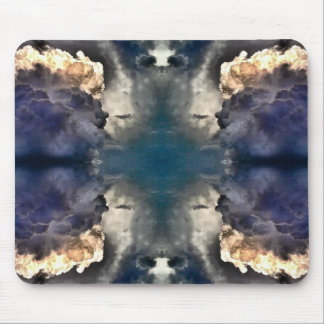 MilkyWayの芸術の怒っている雲のマウスパッド マウスパッド