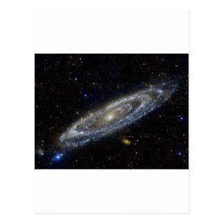 Milkywayの銀河系の芸術 ポストカード