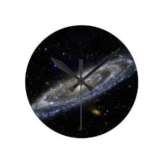 Milkywayの銀河系の芸術 ラウンド壁時計