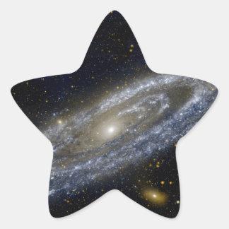 Milkywayの銀河系の芸術 星シール