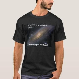 """MilkyWay: """"宇宙がなら真空… """" Tシャツ"""