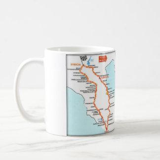 MILLE MIGLIAの地図-マグ コーヒーマグカップ