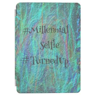 """""""Millennials""""の鮮やかでモダンな抽象的でシックなデザイン iPad Air カバー"""