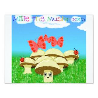 Millieきのこ カード