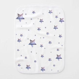 million|StarsのベビーBurpclothの1つ バープクロス