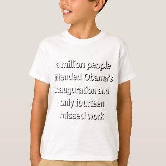 milllionの人々1 tシャツ
