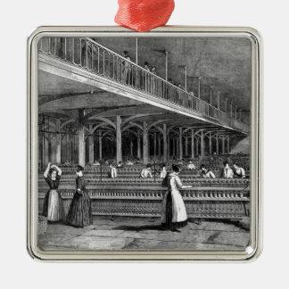 Mills -二人部屋1851年学部長(litho) メタルオーナメント