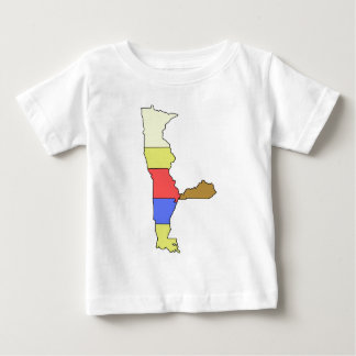 MIMAL小妖精や小人、5人の州のシェフ ベビーTシャツ