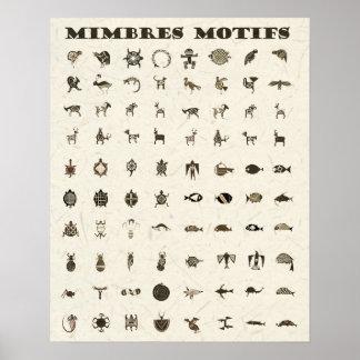 Mimbresのモチーフ ポスター