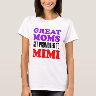 Mimiに促進されるすばらしいお母さん Tシャツ
