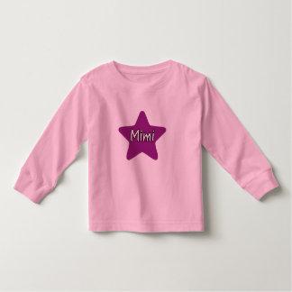 Mimi星 トドラーTシャツ
