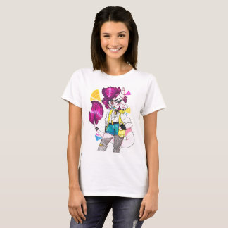 MIMI -ハハ Tシャツ