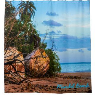 Mindilのビーチ シャワーカーテン