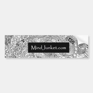 MindJunket.com バンパーステッカー