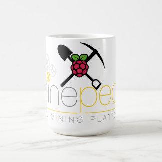 Minepeon及びラズベリーPi コーヒーマグカップ