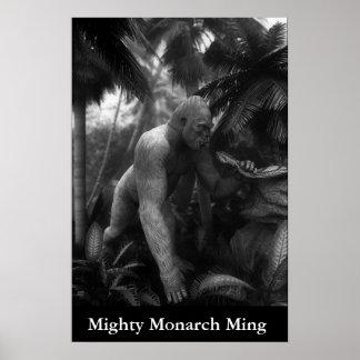 Ming強大な(昆虫)オオカバマダラ、モナーク ポスター