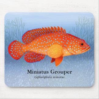Miniatusのハタ礁の魚のマウスパッド マウスパッド