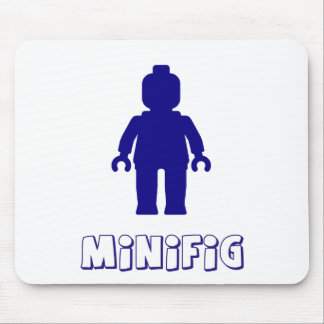 Minifigは[濃紺]私のMinifigをカスタマイズ マウスパッド