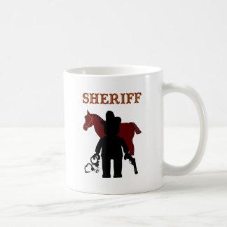 Minifig保安官は私のMinifigをカスタマイズ コーヒーマグカップ