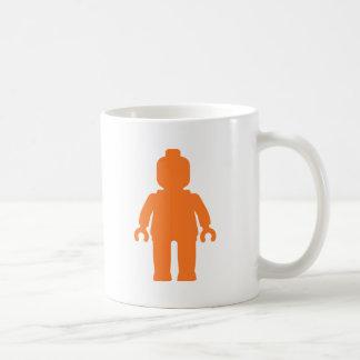 Minifig [大きいオレンジ]私のMinifigをカスタマイズ コーヒーマグカップ