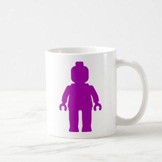 Minifig [大きい紫色]私のMinifigをカスタマイズ コーヒーマグカップ
