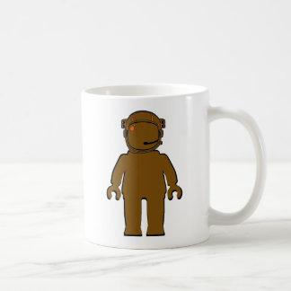 Minifig Banksyのスタイルの宇宙飛行士 コーヒーマグカップ