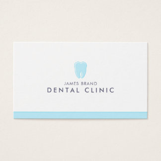 Minimalist Dental Clinic Dentist 名刺