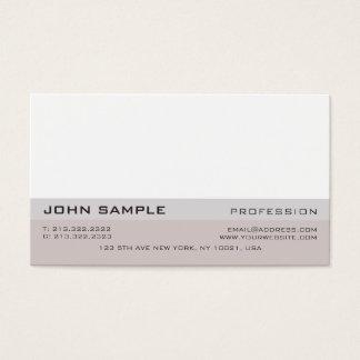 Minimalist Simple Modern Professional Elegant 名刺