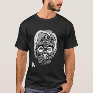 Minkyの芸術によるLennonの種族のTシャツ Tシャツ