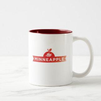Minneappleのコーヒー・マグ ツートーンマグカップ