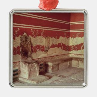Minos 1500-1400年の王位部屋紀元前に メタルオーナメント