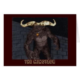 Minotaurの挨拶状 カード