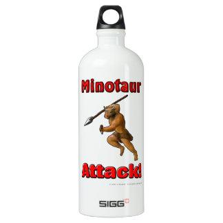 Minotaurの攻撃(スローガンと) ウォーターボトル