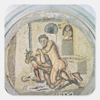 MinotaurのTheseusのレスリング スクエアシール