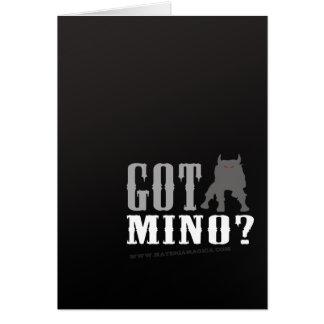 Minotaur -得られたMinoか。 カード
