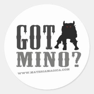 Minotaur -得られたMinoか。 ラウンドシール