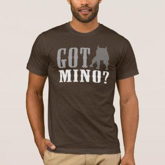 Minotaur -得られたMinoか。 人のワイシャツ Tシャツ